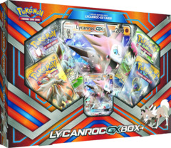 Lycanroc GX Box - 1 of 4 Packs includes XY Evolutions