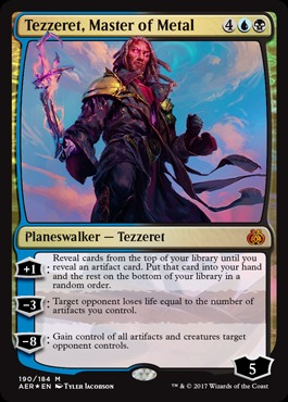 Tezzeret, Master of Metal - Foil - Planeswalker Deck Exclusive