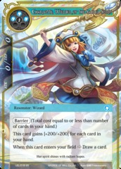 Charlotte, Wielder of the Sacred Beast - LEL-018 - SR - Foil