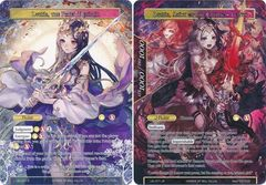 Lumia, the Fated Rebirth // Lumia, Saint of the Crimson Lotus - LEL-071 - R - Textured Foil