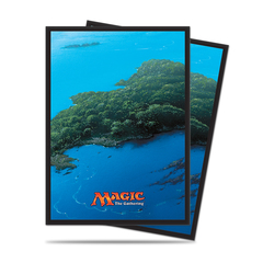 Ultra Pro - Sleeves - Mana Series: Island UPI 86455 ₱500