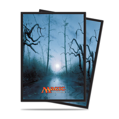 Ultra Pro Sleeves: Magic the Gathering Mana Series 5 Swamp (80ct)