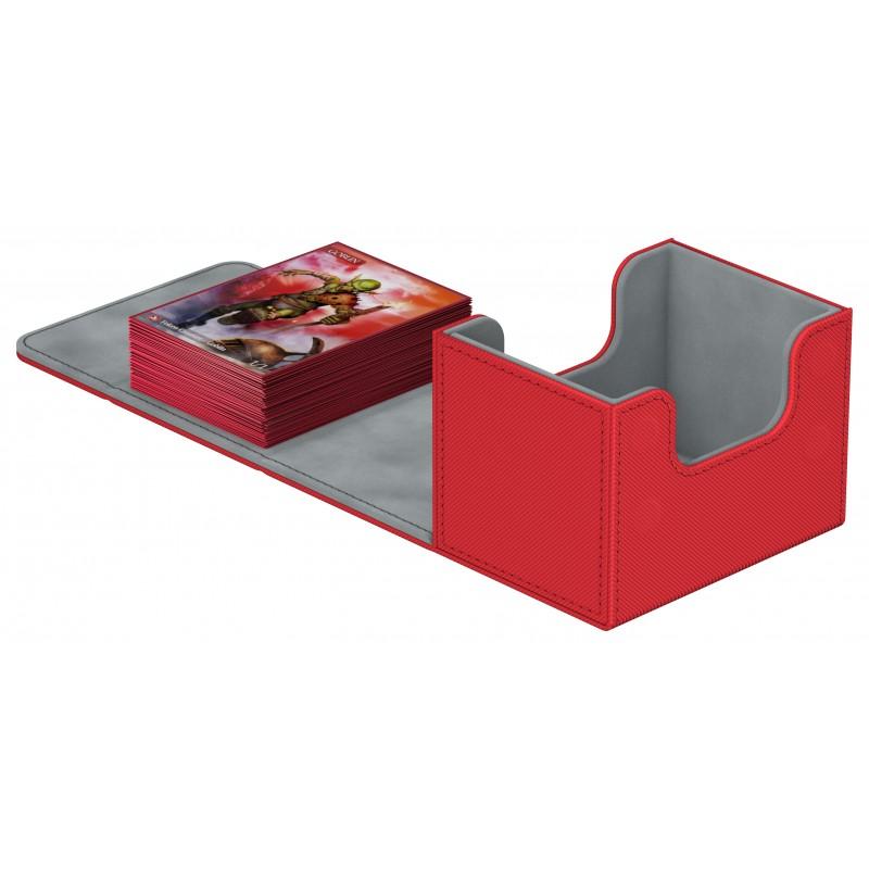 Ultimate Guard - Deck Case 100+ Sidewinder Xenoskin - Red