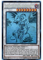Scarlight Red Dragon Archfiend - DOCS-EN046 - Ghost Rare - Unlimited Edition