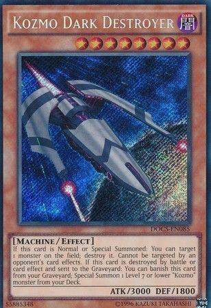 Kozmo Dark Destroyer - DOCS-EN085 - Secret Rare - Unlimited Edition