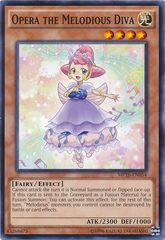 Opera the Melodious Diva - MP16-EN054 - Common - Unlimited Edition