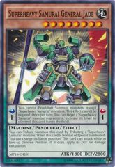 Superheavy Samurai General Jade - MP16-EN181 - Common - Unlimited Edition