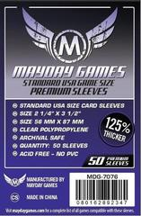 50 ct Standard USA Card Sleeves (MDG-7076)