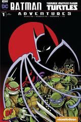 Batman Teenage Mutant Ninja Turtles Adventures #1 (Dynamic Forces Manning Signed)