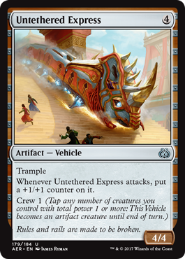 Untethered Express - Foil