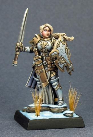 Trista the White Wolf, Female Warrior