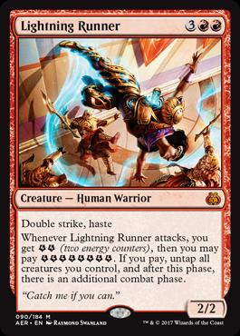 Lightning Runner - Foil