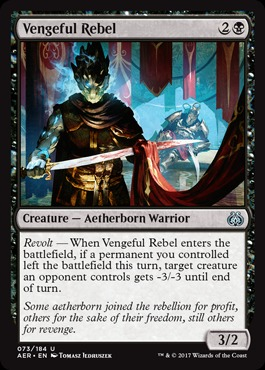 Vengeful Rebel - Foil