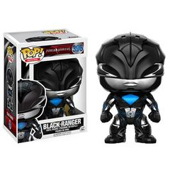 Funko POP -  Movies 396: Power Rangers (2017 Movie) - Black Ranger