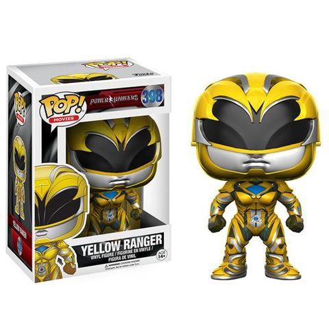 Pop! Movies 398: Power Rangers (2017 Movie) - Yellow Ranger
