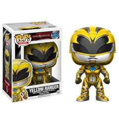 Funko POP -  Movies 398: Power Rangers (2017 Movie) - Yellow Ranger