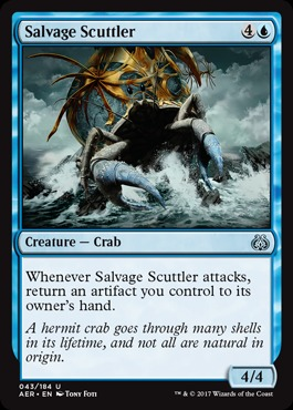 Salvage Scuttler - Foil