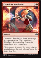 Chandra's Revolution - Foil