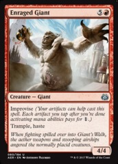 Enraged Giant - Foil