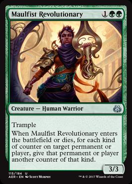 Maulfist Revolutionary - Foil