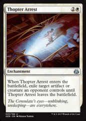 Thopter Arrest - Foil on Channel Fireball