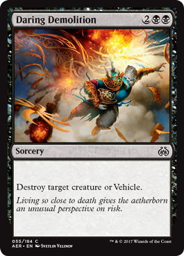 Daring Demolition - Foil