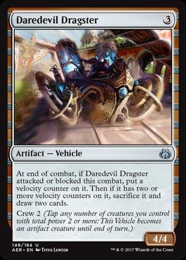 Daredevil Dragster - Foil (AER)