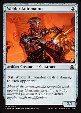 Welder Automaton - Foil