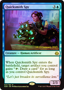 Quicksmith Spy (Aether Revolt Prerelease Foil)