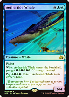 Aethertide Whale (Aether Revolt Prerelease Foil)
