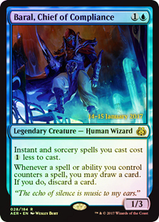 Baral, Chief of Compliance - Foil - Prerelease Promo