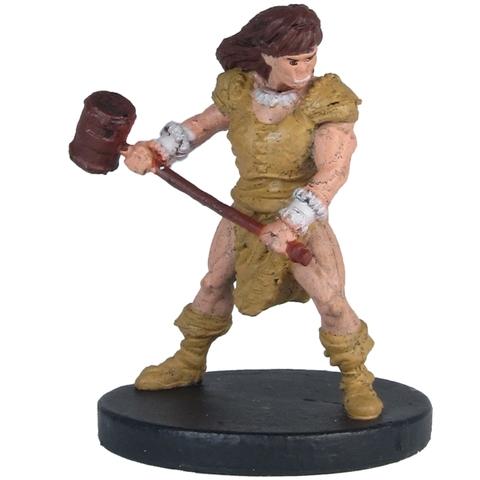 Half-Orc Barbarian - Gaming Miniatures » D&D Miniatures
