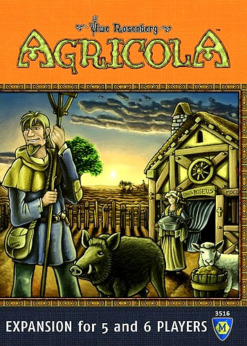 Agricola - 5-6 Player Expansion