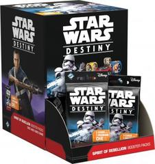 Star wars Destiny - Spirit of Rebellion Booster Display