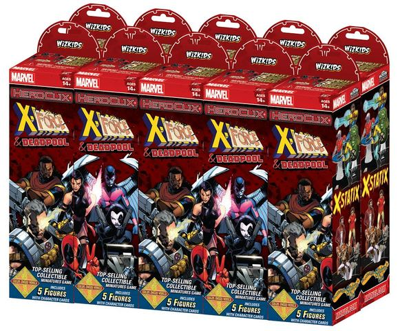 Marvel HeroClix: Deadpool and X-Force Booster Brick (10)