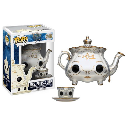 Pop! Disney 244: Beauty And The Beast (2017) - Mrs. Potts And Chip