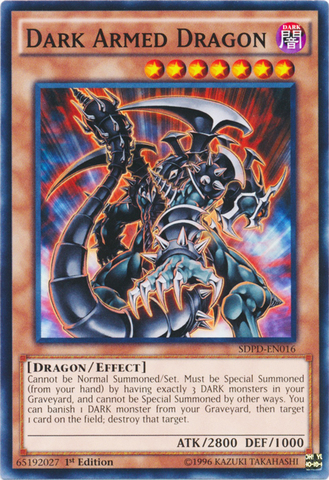 Armageddon Knight Common 1st Edition Yugioh Card SDPD-EN018