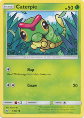 Caterpie - 1/149 - Common on Channel Fireball
