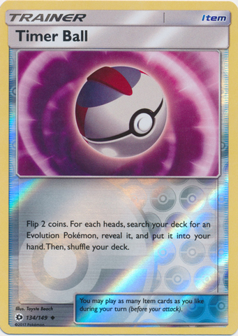 Timer Ball - 134/149 - Uncommon - Reverse Holo