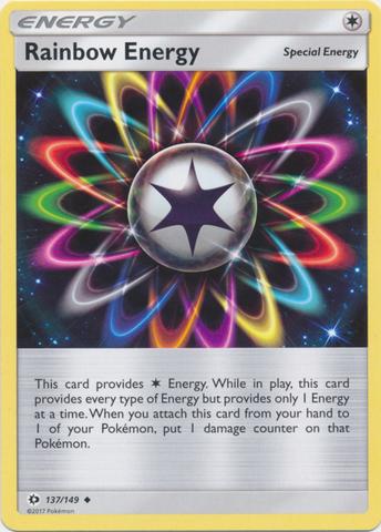 Rainbow Energy - 137/149 - Uncommon