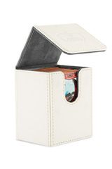 Ultimate Guard - Flip Deck Case 100+ Leatherette Standard Size White