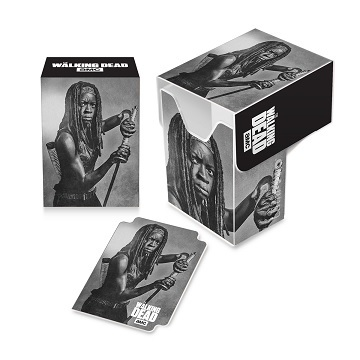 Ultra Pro - The Walking Dead - Michonne Full View Deck Box