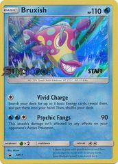 Bruxish - SM11 - Staff Prerelease Promo - SM Black Star Promo on Channel Fireball