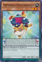 Performapal Handstandaccoon - RATE-EN002 - Common - 1st Edition