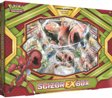 Pokemon TCG: Scizor-Ex Box