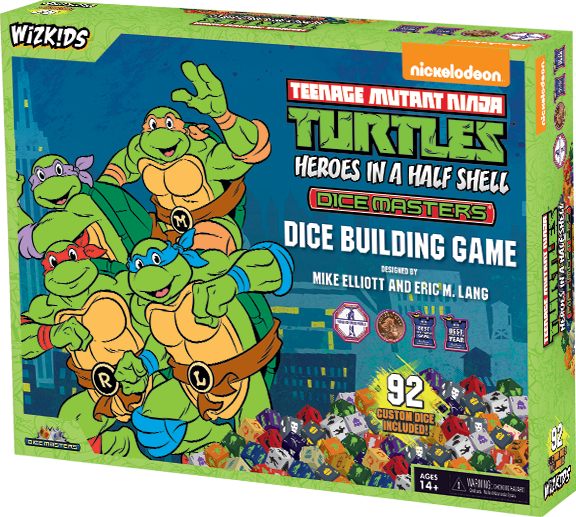 TMNT Dice Masters - Heroes In A Half Shell Box Set
