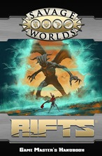 Savage Rifts: Game Masters Handbook (Soft Cover)