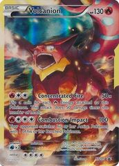 Volcanion - XY185 - Full Art Holo Promo - Volcanion Mythical Collection Exclusive