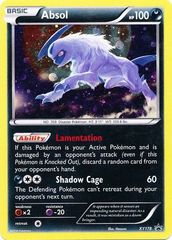 Absol - XY178 - XY Black Star Promos