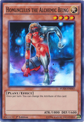 Homunculus the Alchemic Being - FUEN-EN045 - Super Rare - 1st Edition on Channel Fireball